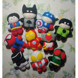 Superhero Finger Puppets (Set of 10)